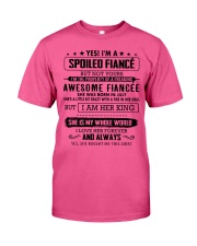 Gift for your Fiance - Spoiled Fiance -  JULY Classic T-Shirt tile