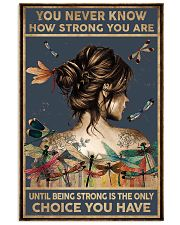 You Never Know How Strong You Are Chad  16x24 Poster front
