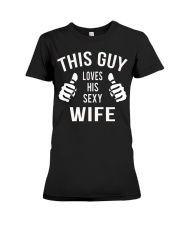 Perfect Gift For Your Wife Premium Fit Ladies Tee thumbnail