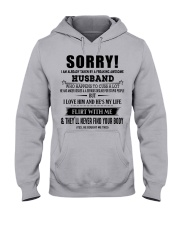 The perfect gift for your WIFE - D Hooded Sweatshirt front