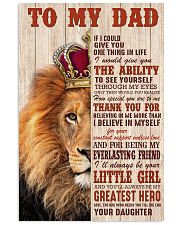 Special gift for father's day - C00 11x17 Poster front