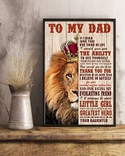 Special gift for father's day - C00 11x17 Poster lifestyle-poster-3