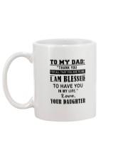 Happy Father's Day Mug back