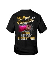 Father and daughter - He is hero of her world Youth T-Shirt thumbnail