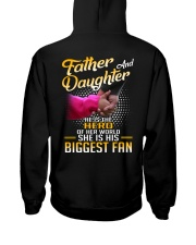 Father and daughter - He is hero of her world Hooded Sweatshirt thumbnail