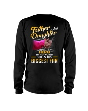 Father and daughter - He is hero of her world Long Sleeve Tee thumbnail