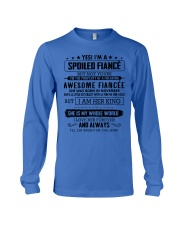 Gift for your Fiance - Spoiled Fiance -  NOVEMBER Long Sleeve Tee thumbnail