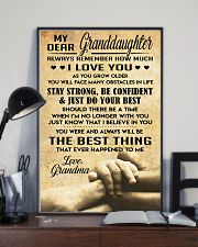 Granddaughter gift 11x17 Poster lifestyle-poster-2