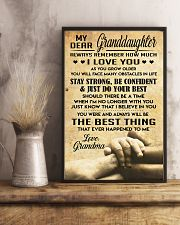 Granddaughter gift 11x17 Poster lifestyle-poster-3