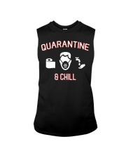 Quarantine and chill funny shirt gift t-shirt Sleeveless Tee thumbnail