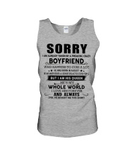 The perfect gift for your girlfriend - D8 Unisex Tank thumbnail