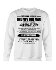 Perfect gift for husband AH01 Crewneck Sweatshirt thumbnail