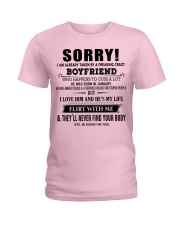 The perfect gift for your girlfriend - D1 Ladies T-Shirt front