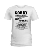 Gift for Boyfriend - fiancee -TINH03 Ladies T-Shirt tile