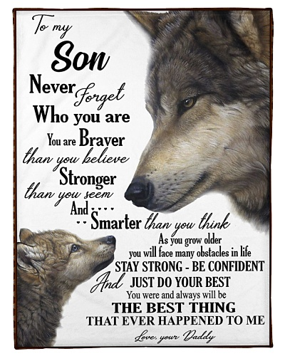 To my dear son never forget who you are