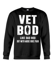 Vet Bod Like Dad Bod But With More Knee Pain Crewneck Sweatshirt thumbnail