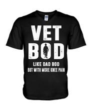 Vet Bod Like Dad Bod But With More Knee Pain V-Neck T-Shirt thumbnail