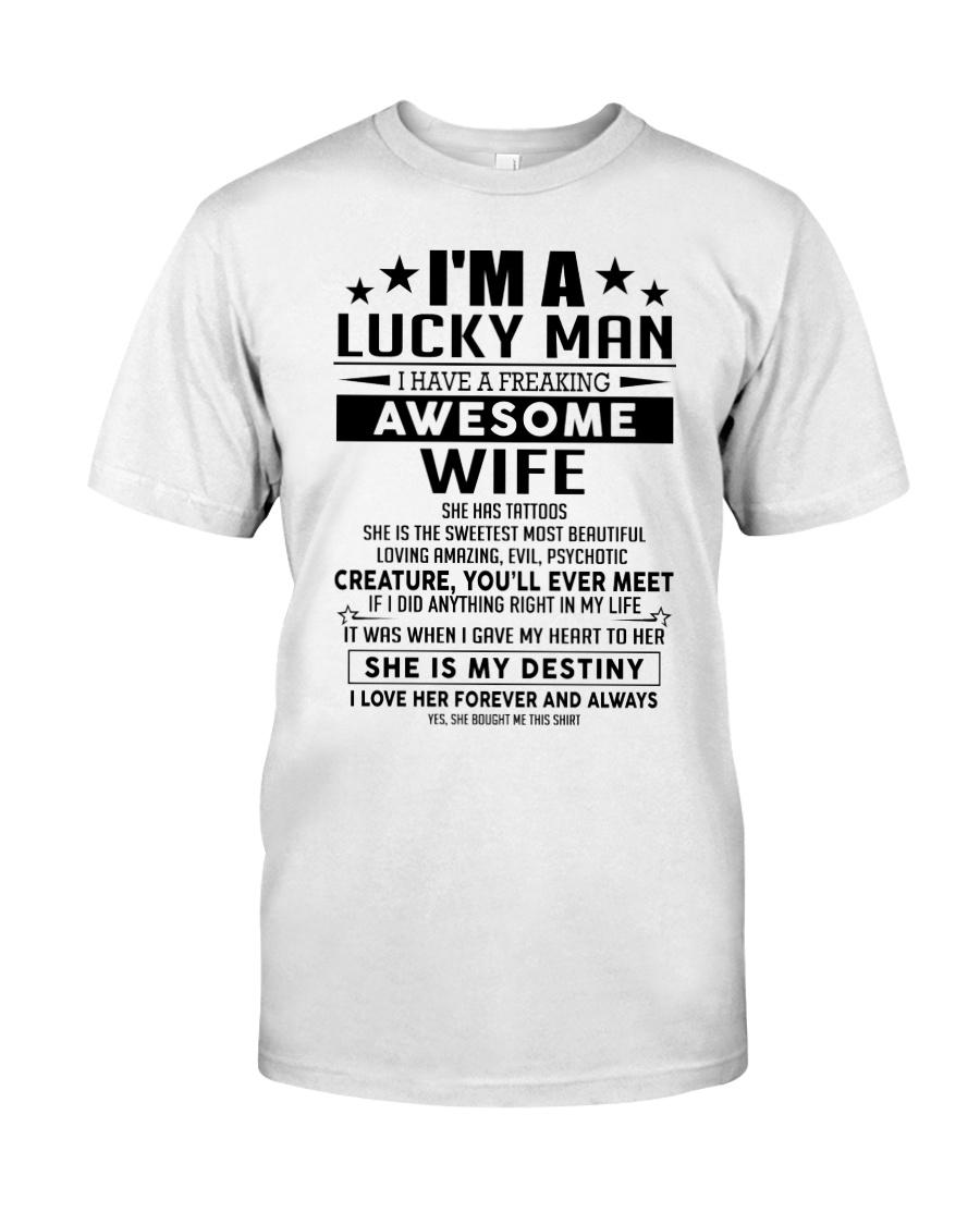 I'm a lucky man W - Tattoo Upsale Classic T-Shirt