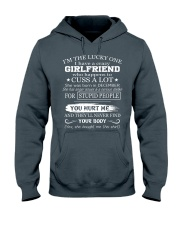 I have crazy GIRLFRIEND - She was born in December Hooded Sweatshirt thumbnail