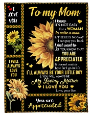 "To my Mom T4-70 Small Fleece Blanket - 30"" x 40"" front"