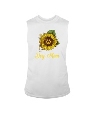 Sunflower Dog Mom Paw  Sleeveless Tee thumbnail