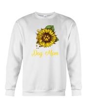 Sunflower Dog Mom Paw  Crewneck Sweatshirt thumbnail