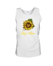 Sunflower Dog Mom Paw  Unisex Tank thumbnail