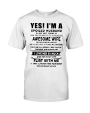 Perfect gift for husband AH01up1 Classic T-Shirt tile