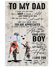 My Dad - My Hero 11x17 Poster front