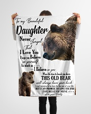 "To my dear daughter never forget that i love you Small Fleece Blanket - 30"" x 40"" aos-coral-fleece-blanket-30x40-lifestyle-front-14"