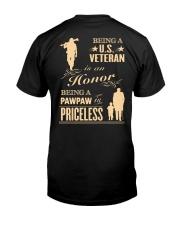 Being a US Veteran is an Honor Classic T-Shirt thumbnail