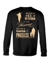 Being a US Veteran is an Honor Crewneck Sweatshirt thumbnail