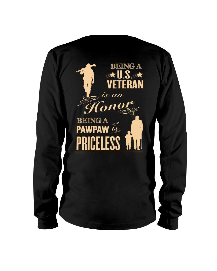 Being a US Veteran is an Honor Long Sleeve Tee