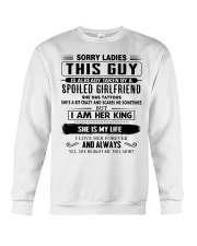 Perfect gifts for Boyfriend- She has Tattoo Crewneck Sweatshirt thumbnail