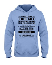Perfect gifts for Boyfriend- She has Tattoo Hooded Sweatshirt thumbnail