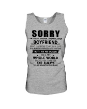 The perfect gift for your girlfriend - D Unisex Tank thumbnail