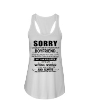 The perfect gift for your girlfriend - D Ladies Flowy Tank thumbnail