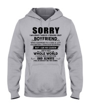 The perfect gift for your girlfriend - D Hooded Sweatshirt front