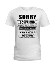 The perfect gift for your girlfriend - D Ladies T-Shirt thumbnail