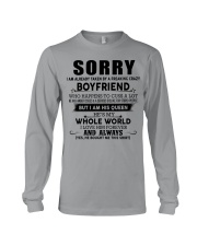 The perfect gift for your girlfriend - D Long Sleeve Tee thumbnail