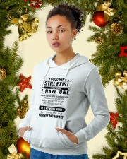 Perfect gift for your loved one Hooded Sweatshirt lifestyle-holiday-hoodie-front-4