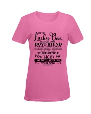 Special gift or presents for girlfriend - C00 Ladies T-Shirt women-premium-crewneck-shirt-front