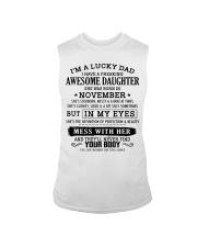 I'm a lucky dad - T11 November Sleeveless Tee thumbnail
