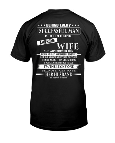 Gift For Your Husband - Wife T07 July