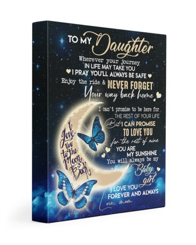 Special canvas for daughter - C