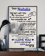 The day I met you I have found my soul loves 11x17 Poster lifestyle-poster-2