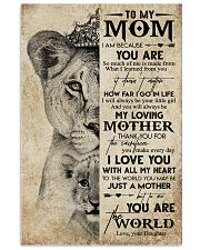 Special gift for mother - C 109 11x17 Poster front