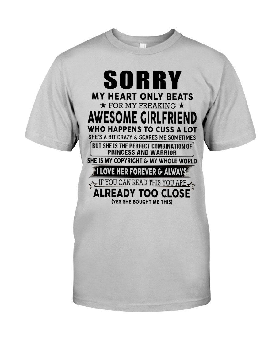 Special gift for Boyfriend - A00 Classic T-Shirt