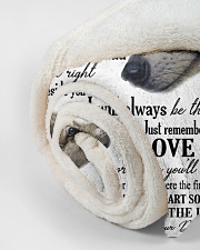 """To my dear son never forget that i love you Small Fleece Blanket - 30"""" x 40"""" aos-coral-fleece-blanket-30x40-lifestyle-front-18"""