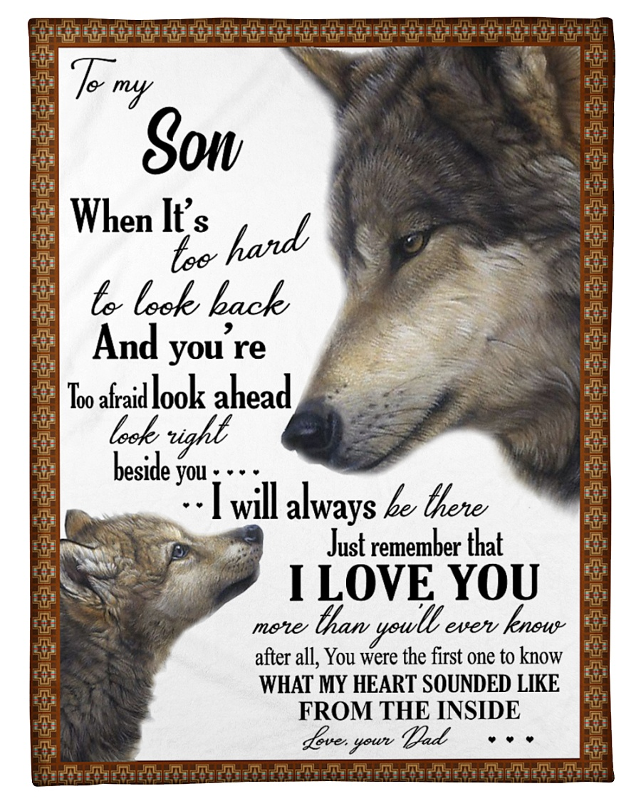 """To my dear son never forget that i love you Small Fleece Blanket - 30"""" x 40"""""""